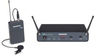 Samson Technologies Concert 88x Presentation Wireless Lavalier Mic