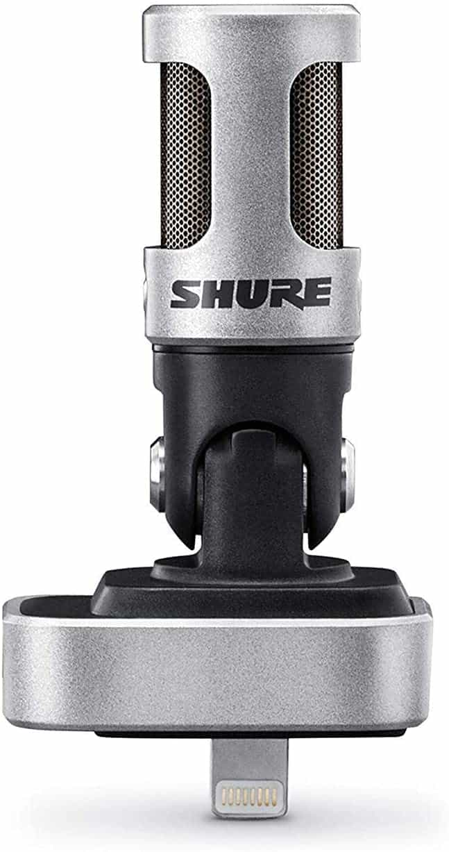 Shure MV88 Portable iOS Microphone for iPhone iPad iPod