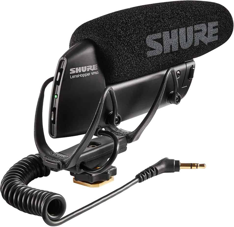 Shure VP83 LensHopper Camera-Mounted Shotgun Microphone