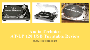Audio Technica AT-LP 120 USB Turntable Review 2