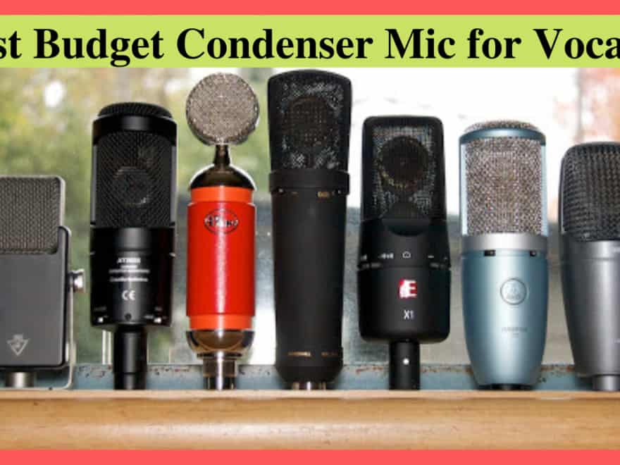 best budget condenser mic for vocals
