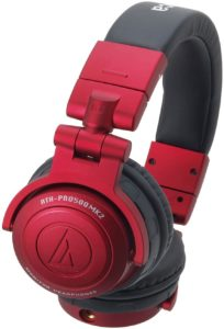 Audio Technica ATH-PRO500MK2 RD RED