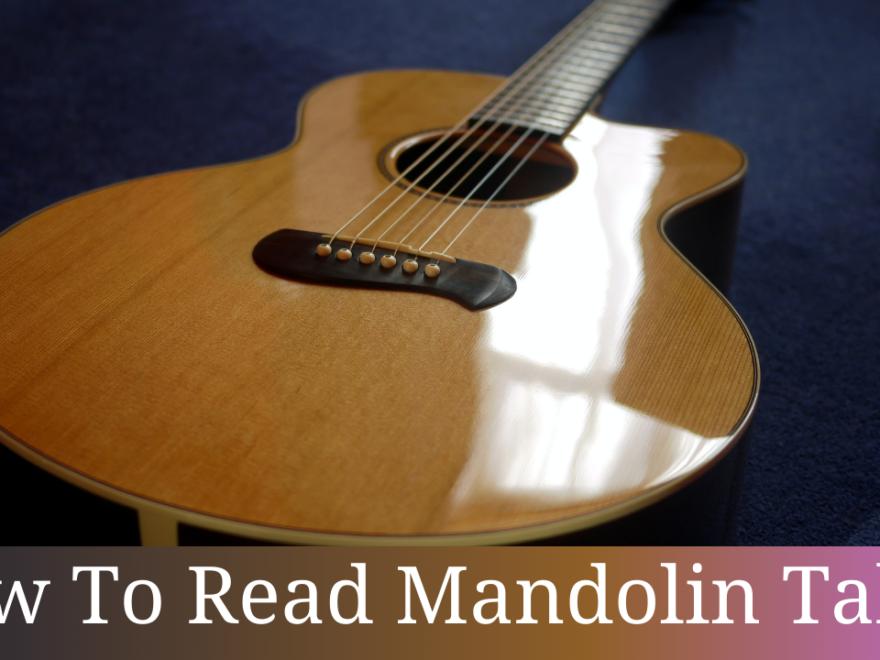 How To Read Mandolin Tabs 32