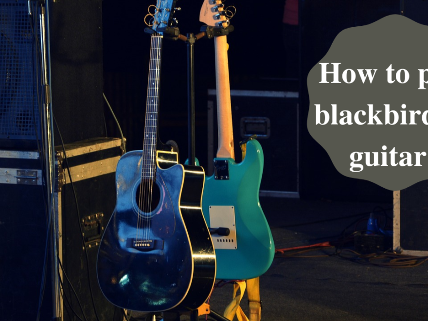 Easy Written Guide On How To Play Blackbird On Guitar 24